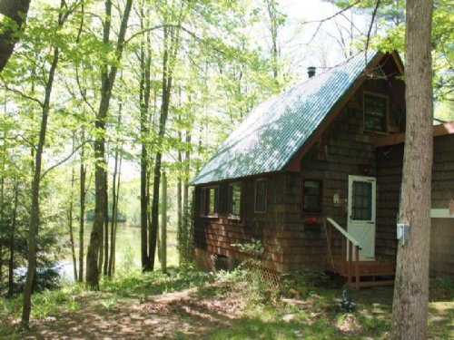 Cabin Bordering State Land 37 Ac : Albion : Oswego County : New York