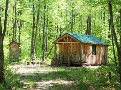 Cabin Bordering State Land 5 Acres : Orwell : Oswego County : New York