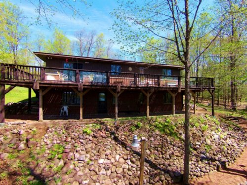 150276- Oxbow Lake Ranch Home : Presque Isle : Vilas County : Wisconsin