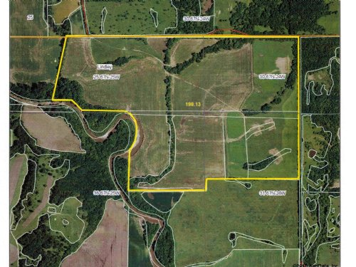 196 Acres M/l - Hunting And Income : Mercer County : Missouri
