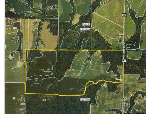 146 Acres M/l Timber & Tillable : La Belle : Lewis County : Missouri