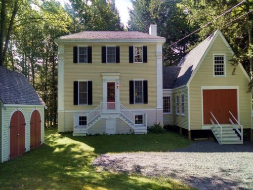 Sebec Lake Colonial : Bowerbank : Piscataquis County : Maine