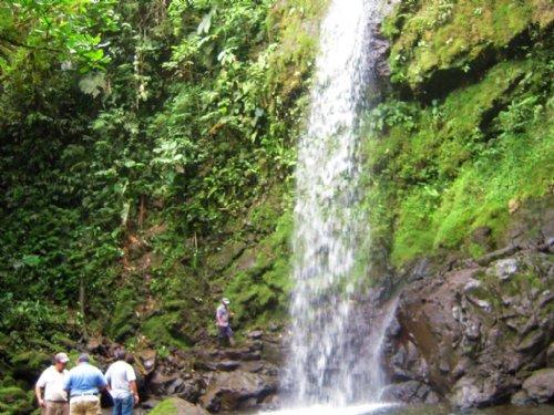 Waterfalls, 207 Ac. Mt. Farm, Cabin : La Suiza De Turrialba : Costa Rica