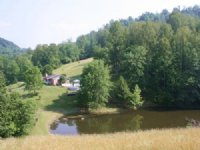 Private 85 Acre Farm And House : Sutton : Braxton County : West Virginia