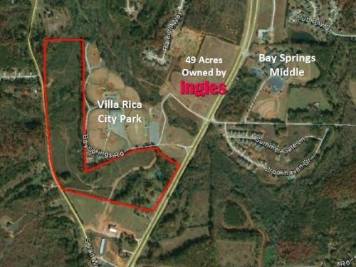 67.14 Acres Hwy 61 : Villa Rica : Carroll County : Georgia