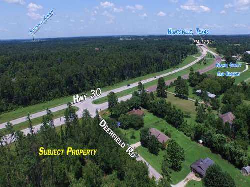 57 Acres Hwy 30 : Huntsville : Walker County : Texas