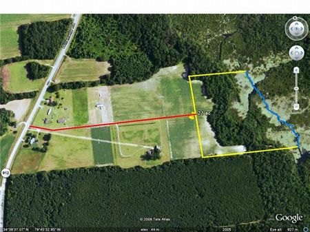21 Acres Owner Financing : Land for Sale : Bennettsville