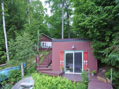 White Sand Lake Cabin : Lac Du Flambeau : Vilas County : Wisconsin