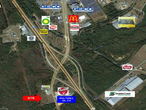 10.5 Acres / Commercial / Divisible : Macon : Bibb County : Georgia