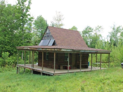 Cabin Borders State Forest 76 Acre : Croghan : Lewis County : New York