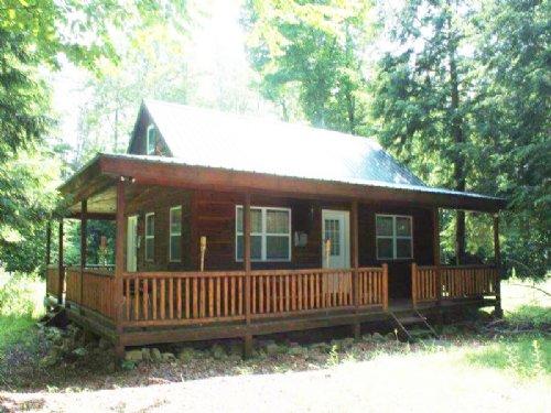 Furnished Cabin 61 Acres Stream : Williamstown : Oswego County : New York