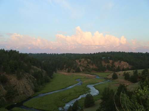 Cougar Canyon Ranch : Westcliffe : Custer County : Colorado