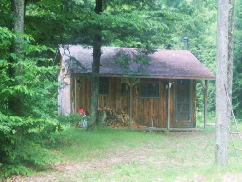 2 Cabins Bordering State Forest : Diana : Lewis County : New York