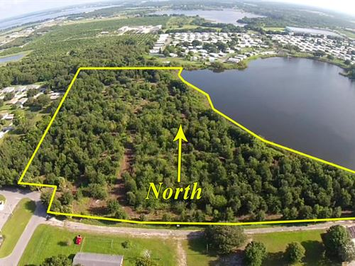 14 Ac Vacant Land Multi-Family Res : Dundee : Polk County : Florida