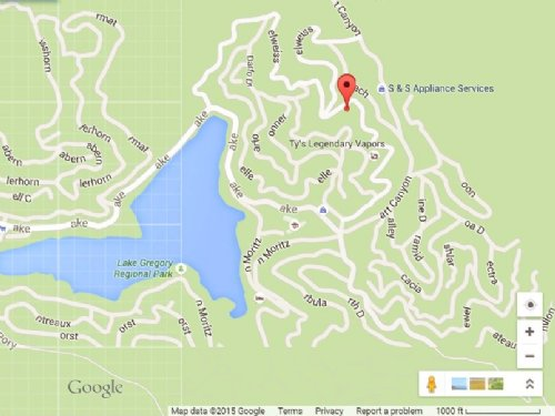 5,500 Sq Ft. Buildable Lot For Sale : Crestline : San Bernardino County : California