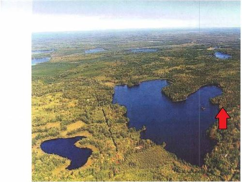 162544 - Mitten Lake : Lac Du Flambeau : Vilas County : Wisconsin