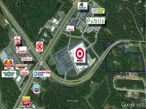 Large Commercial Land Tract : Tallahassee : Leon County : Florida