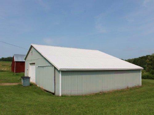 Farmland 2 Barns Views 5 Acres : Florence : Oneida County : New York