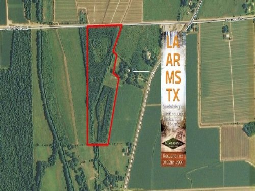 27 Ac - Rural Home Site Tract On Ex : Winnsboro : Franklin Parish : Louisiana