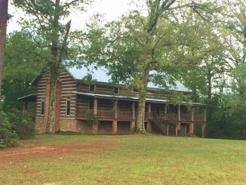 Rustic Log Home On 80 Acres, Amite : Liberty : Amite County : Mississippi
