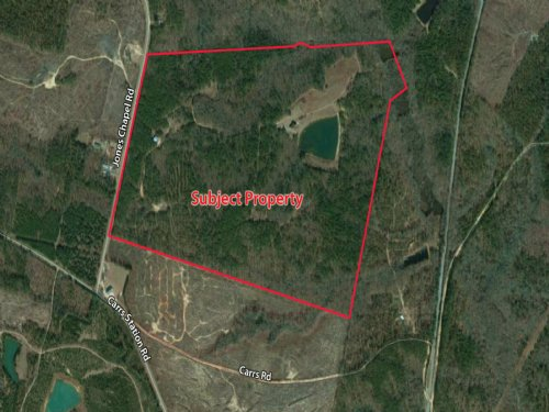 210 Acres With House & Pond : Sparta : Hancock County : Georgia