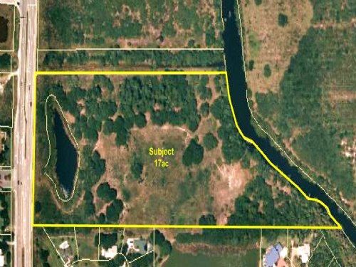 17ac Picturesque Riverfront Parcel : Fort Pierce : St. Lucie County : Florida