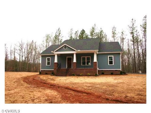 New Construction On 4.42 Acres : Cartersville : Cumberland County : Virginia
