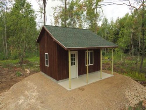 North Country Hunting Camp : Hopkinton : Saint Lawrence County : New York