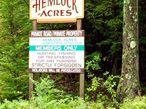 3.98 Acre Building Lot : Millville : Columbia County : Pennsylvania