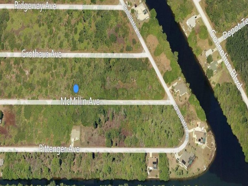 Beautiful Port Charlotte Lot : Port Charlotte : Charlotte County : Florida
