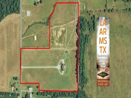 20 Ac - Large Custom Home With Acre : Mangham : Richland Parish : Louisiana
