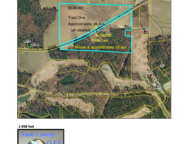 Nothing But Cleared Land : Battleboro : Nash County : North Carolina