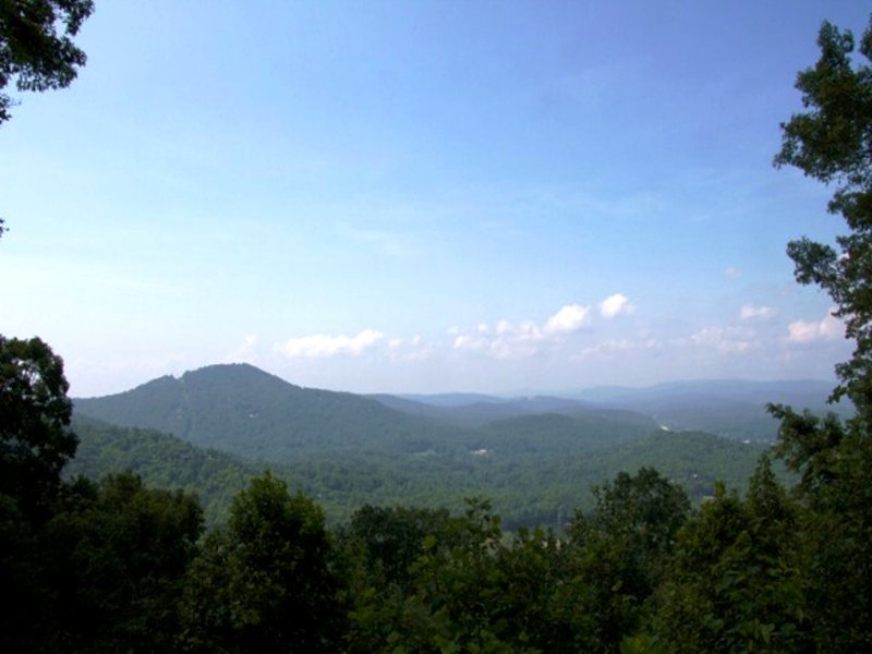 Fantastic Mountain Top Lot : Clayton : Rabun County : Georgia
