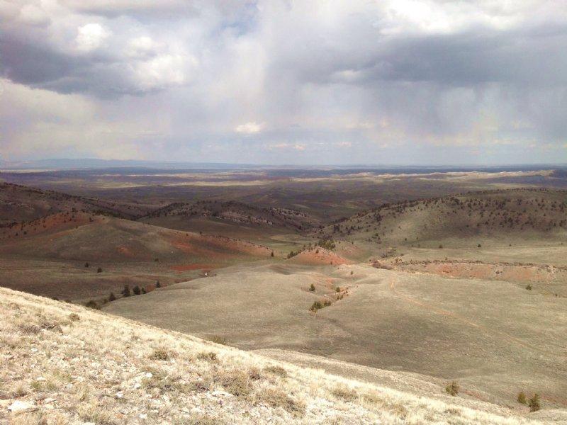 Rattlesnake Ranch : Waltman : Natrona County : Wyoming