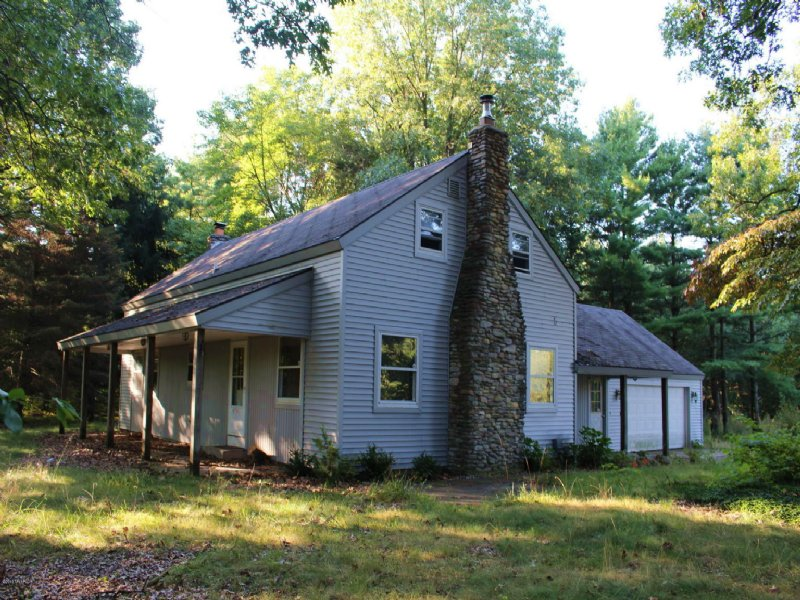 Home On 12 Wooded Acres : Kalamazoo : Kalamazoo County : Michigan
