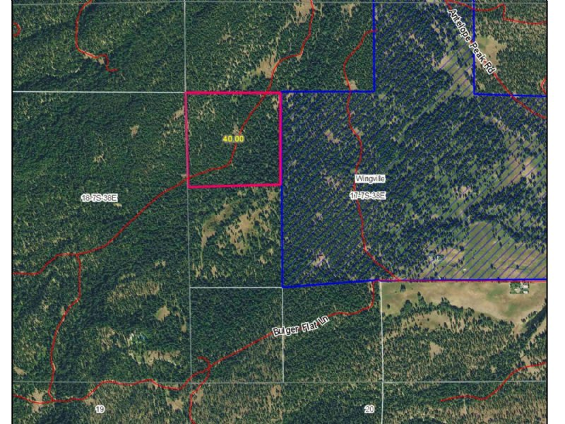 40 Acre Parcel Tl 600 : Baker City : Baker County : Oregon