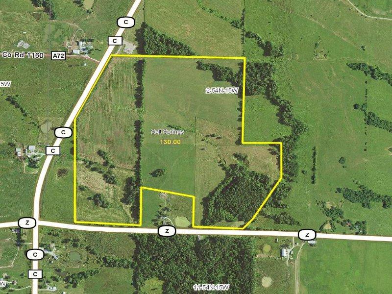 130 Acres : Huntsville : Randolph County : Missouri