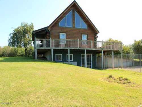 Solid Log Home On 56 Acres : Kent City : Kent County : Michigan
