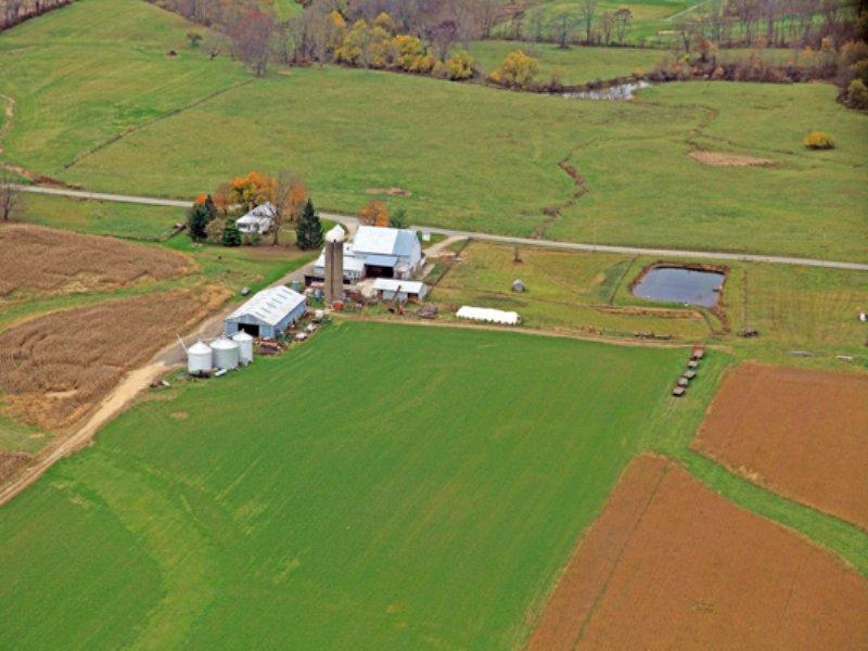 175 Acres With Improvements : Sunbury : Delaware County : Ohio