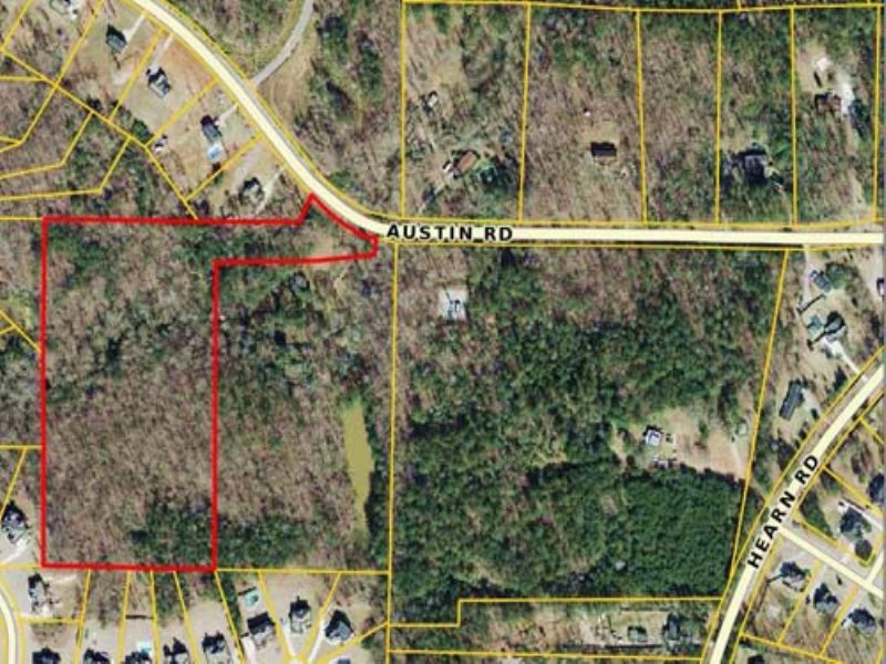 Auction: 10+/- Ac. Residential Land : Ellenwood : Henry County : Georgia