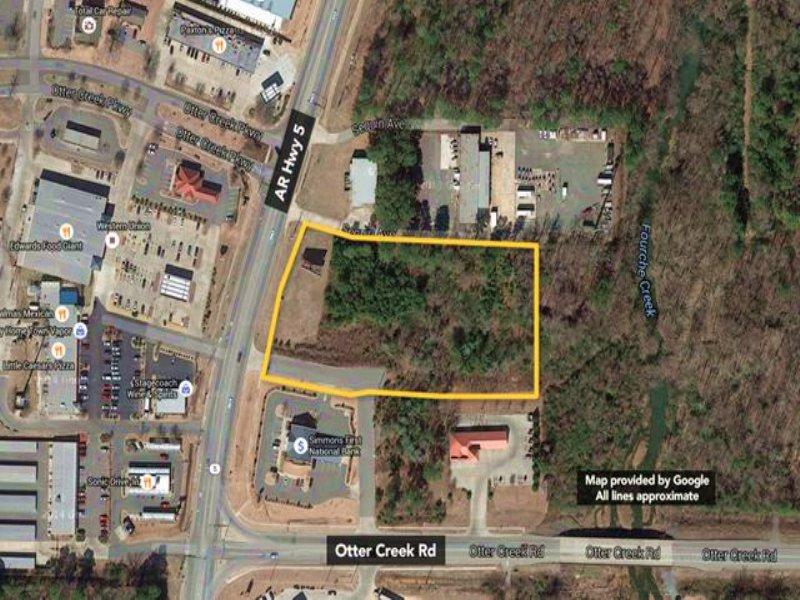 Commercial Land. : Little Rock : Pulaski County : Arkansas