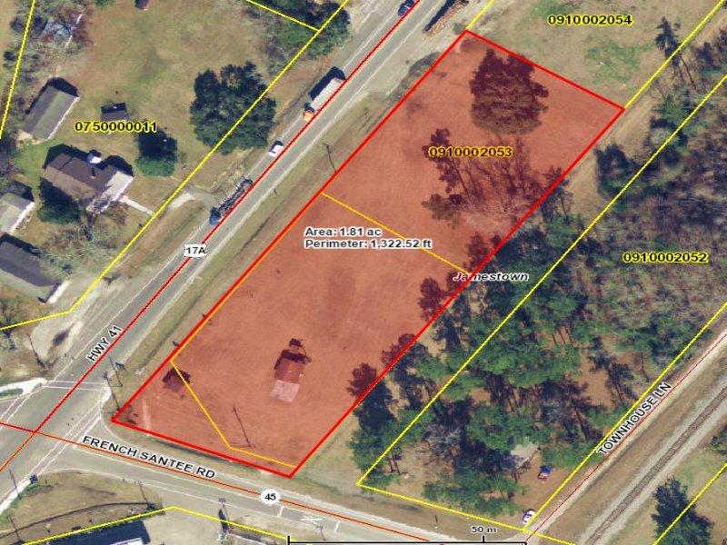 Lot C 1.8 Acre Lot In Jamestown, Sc : Jamestown : Berkeley County : South Carolina