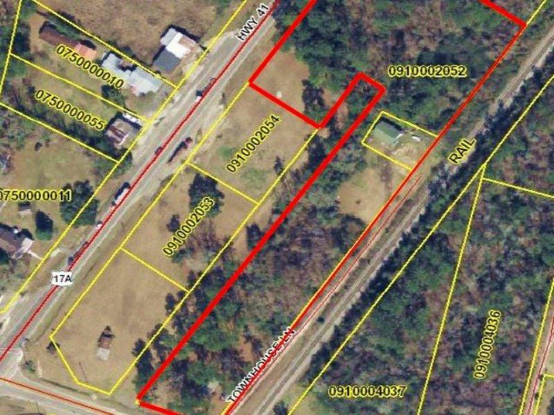 Lot D- 6.5+/- Acres- Jamestown, Sc : Jamestown : Berkeley County : South Carolina