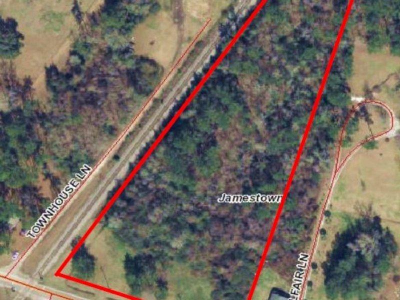 Lot E- 3.1+/- Acre Jamestown, Sc : Jamestown : Berkeley County : South Carolina