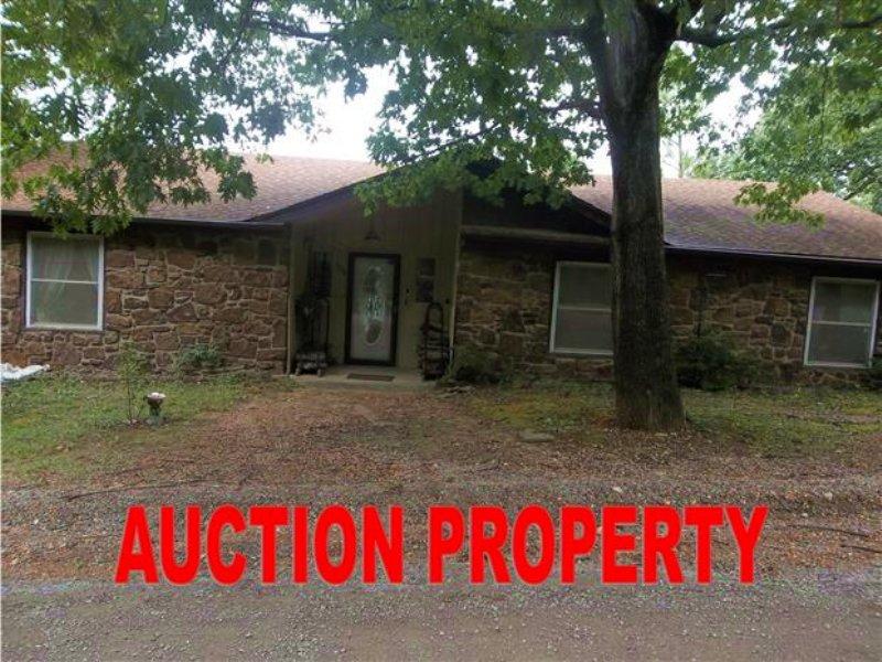 3 Bedroom Home On 2.5 Acres : Hulbert : Cherokee County : Oklahoma