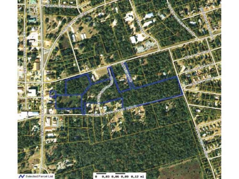 Auction: 18+/- Ac Comm & Res Land : Crawfordville : Wakulla County : Florida