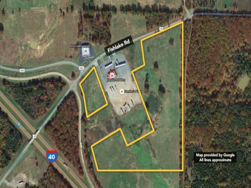 Two Commercial Tracts Off I-40 A : Blackwell : Conway County : Arkansas
