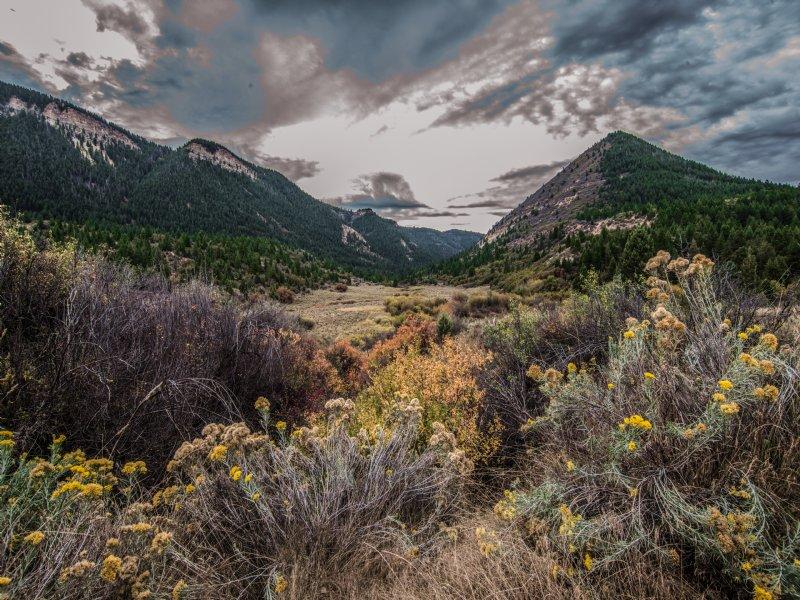 Roan Creek Ranch : De Beque : Garfield County : Colorado