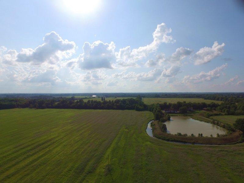 559.84 Acres Established Duck Club : Fallon : Saint Charles County : Missouri