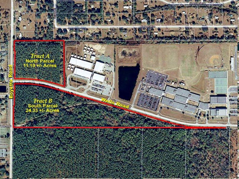 Wells Road Development : Wesley Chapel : Pasco County : Florida